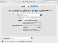Begini Cara Mengaktifkan Night Shift di macOS