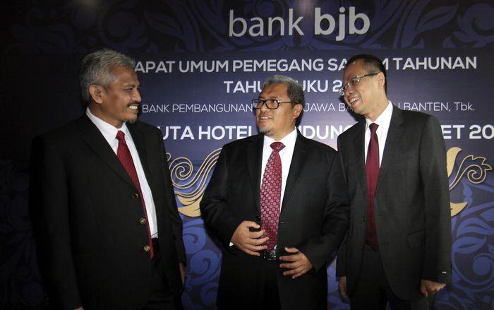 Bank bjb mencatat pencapaian tutup tahun 2016 dengan hasil yang positif setelah berhasil membukukan laba bersih yang tumbuh 14,4% year-on-year (y-o-y). Laba bank bjb tahun 2016 naik sebesar 4,4% atau mencapai lebih dari Rp 1,5 triliun. (Foto: dok. Bank BJB)