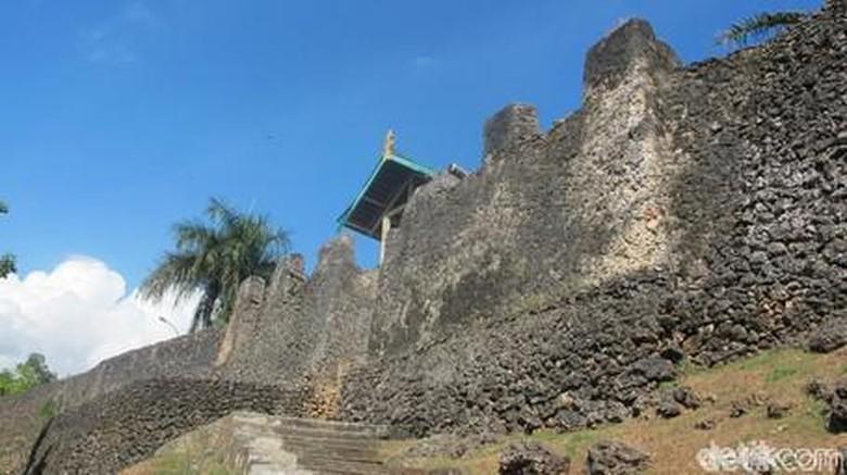 Benteng Keraton Buton, benteng terluas di dunia (Afif/detikTravel)