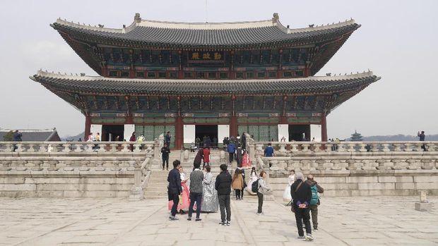 Istana Gyeongbokgung di Seoul