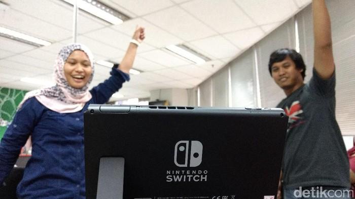 Nintendo Switch. Foto: detikINET - Anggoro Suryo Jati