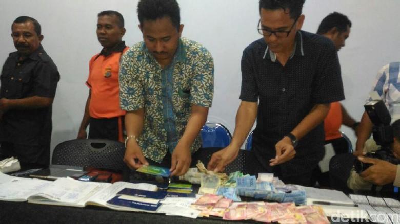 Polisi Tangkap Bandar Togel di Kupang, Duit Rp 17 Juta Disita
