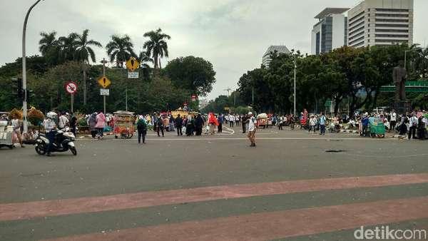 Diakhiri dengan Doa, Massa Aksi 313 Membubarkan Diri