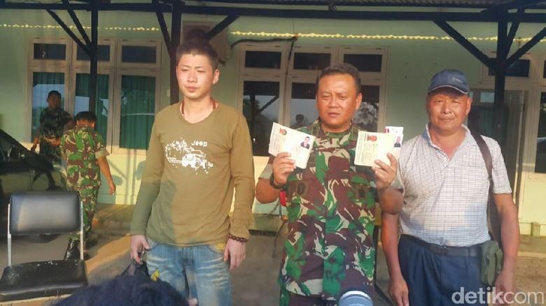 TNI Tangkap 2 WN China di Batam