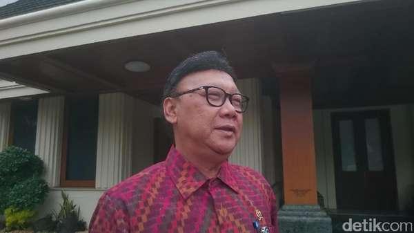 Mendagri Temui Wiranto Bahas Tuntutan Aksi 313