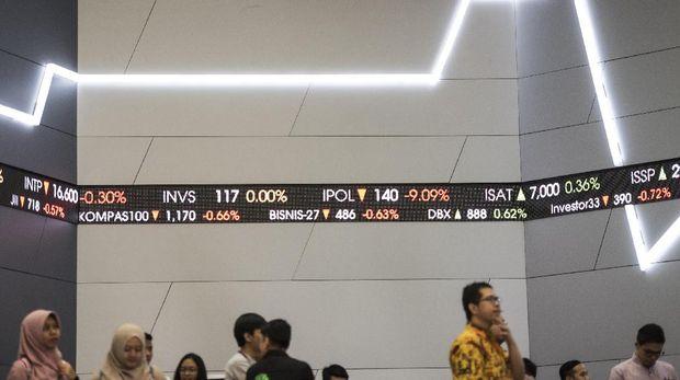 Aktivitas di Bursa Efek Indonesia.