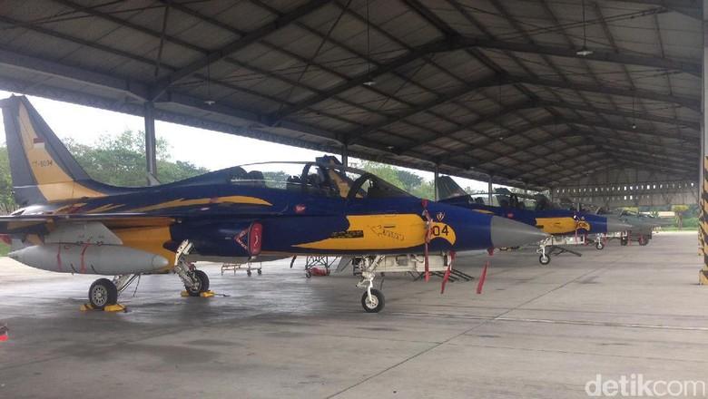 Melongok Pesawat Tempur Indonesia Yang Ada Di Lanud Jatim