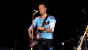 Foto-foto Coldplay Syuting Video Klip A Sky Full of Stars