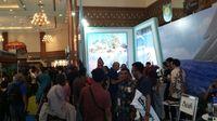 Suasana di Booth Sail Sabang