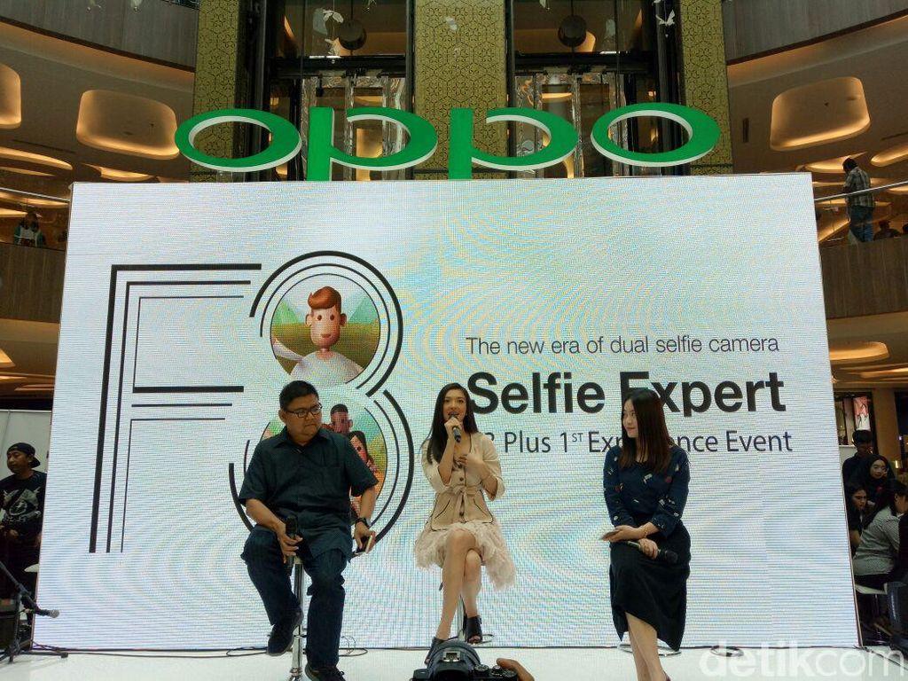 Bertempat di Trans Studio Mall, Oppo menggelar penjualan perdana F3 Plus di Bandung. Foto: Avitia Nurmatari / detikINET
