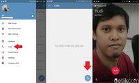 Begini Cara Telepon Lewat Aplikasi Telegram