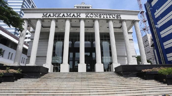 Gedung MK (Foto: Ari Saputra/detikcom)
