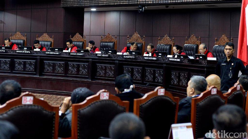 MK Minta Demo Digelar Tertib, Tak Ganggu Sidang Putusan Gugatan Pilpres