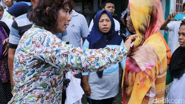 Susi Blusukan ke Kampung Nelayan Bajo di Wakatobi