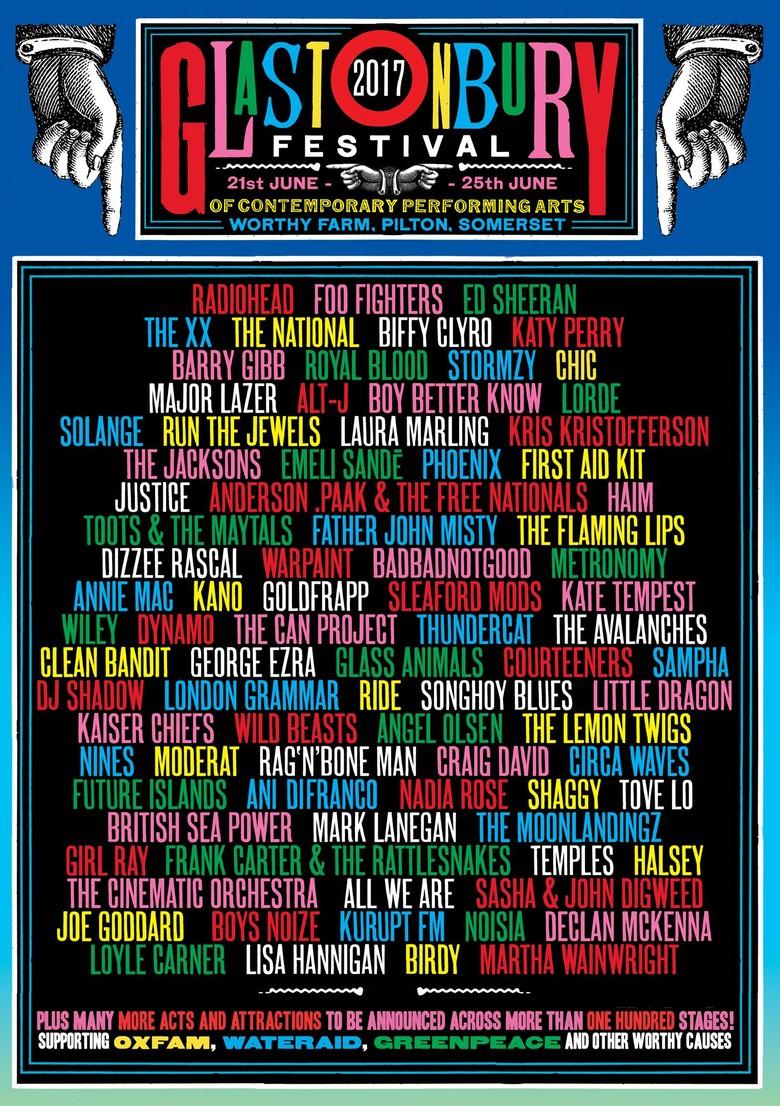Dua Line Up Baru di Glastonbury Festival