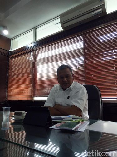 Kepala Badan Geologi Kementerian ESDM Ego Syahrial
