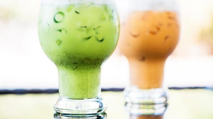Banyak minum manis seperti thai tea, ternyata semakin meningkat. Foto: iStock
