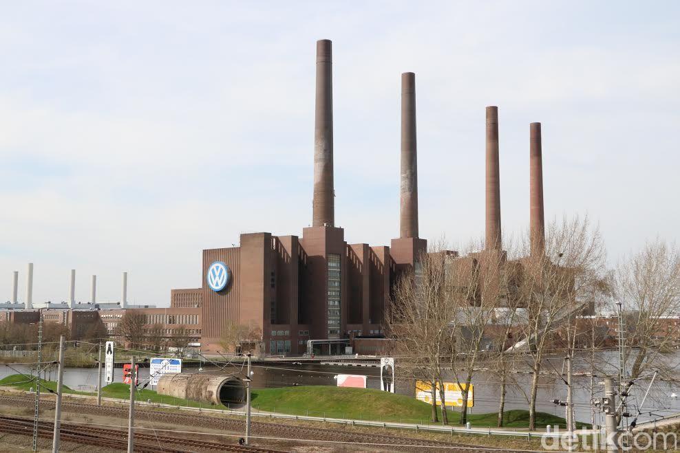 Pabrik VW di Wolfsburg