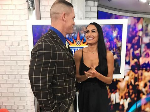 Nikki Bella & mantan kekasih John Cena
