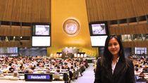 Mahasiswi Indonesia di Amerika Ikut Sidang Tahunan di PBB