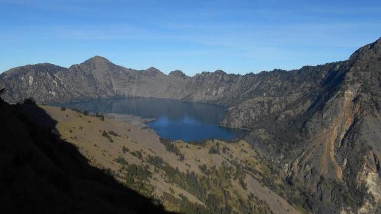 Ilustrasi Gunung Rinjani (Basri Bachtiar/dTraveler)