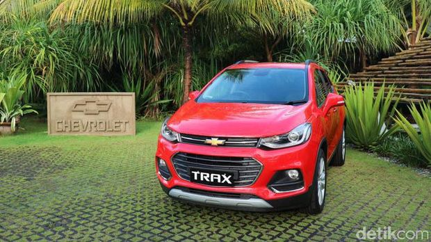 Chevrolet Trax Test Drive Bali