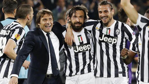 Antonio Conte sempat meraih sukses bersama Juventus.