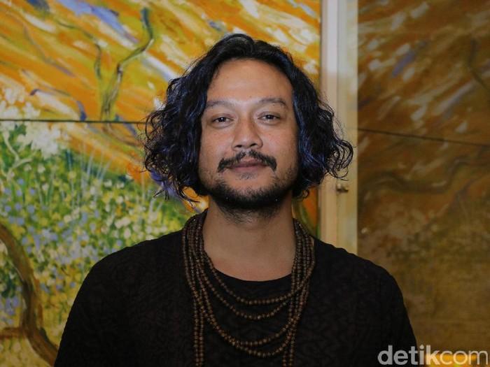 Dwi Sasono saat prescon film Kartini di Plaza Indonesia, Jakarta Pusat, Rabu (5/4/2017).