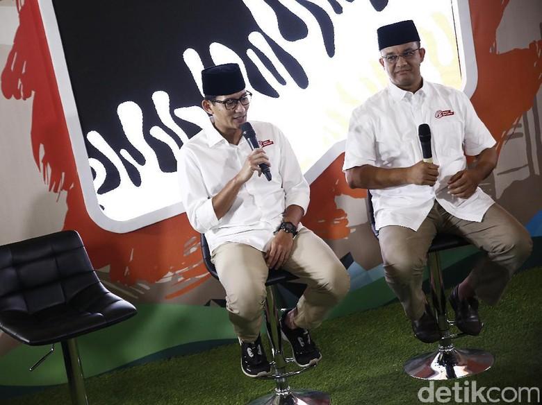 Anies-Sandi Habiskan Rp 17,9 Miliar untuk Kampanye Putaran Kedua