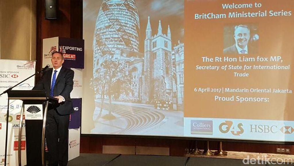Pentingnya RI Bagi Inggris Pasca Cerai dengan Uni Eropa