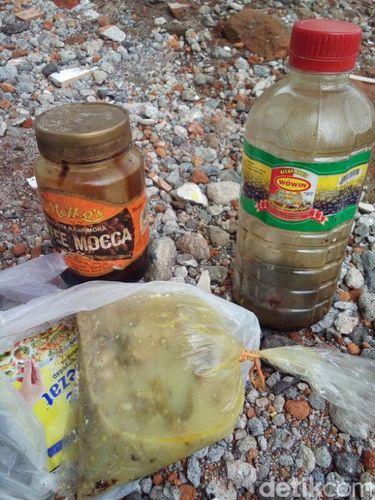 Sisa makanan yang menyebabkan warga keracunan