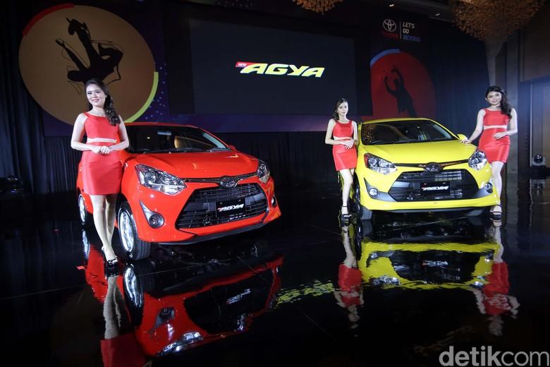 LCGC Toyota Agya. Foto: Agung Pambudhy