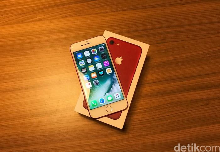 Apple iPhone 7. Foto: Adi Fida Rahman/detikINET