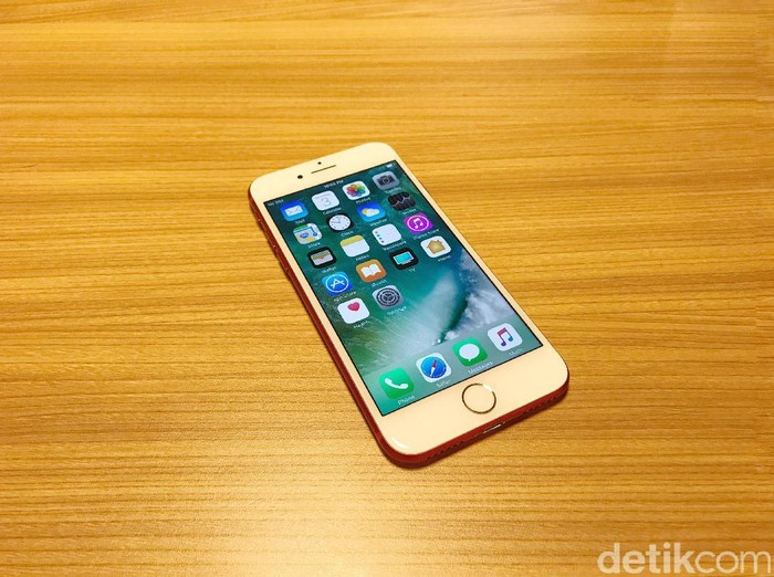 iPhone 7 RED Unboxing di Jakarta