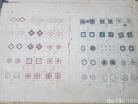 Inspirasi motif batik Banten.
