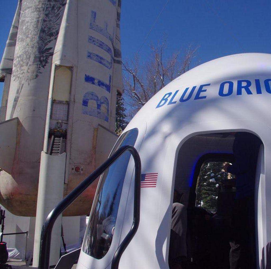 Blue Origin Akan Jual Tiket ke Luar Angkasa Tahun Depan