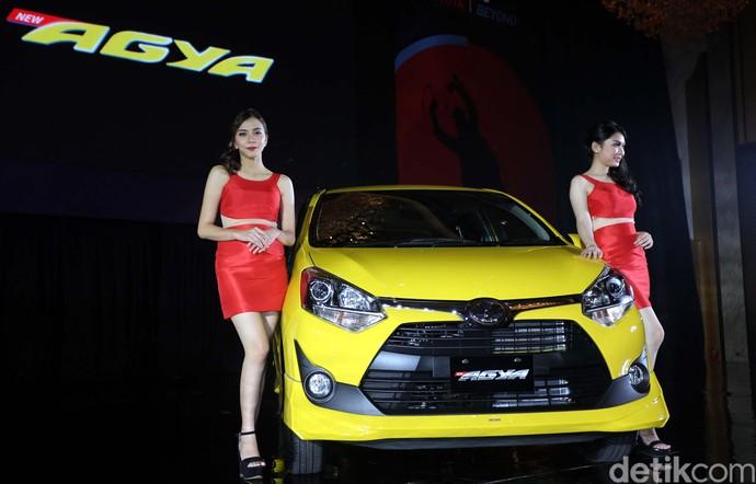Begini Tampang Anyar Toyota Agya