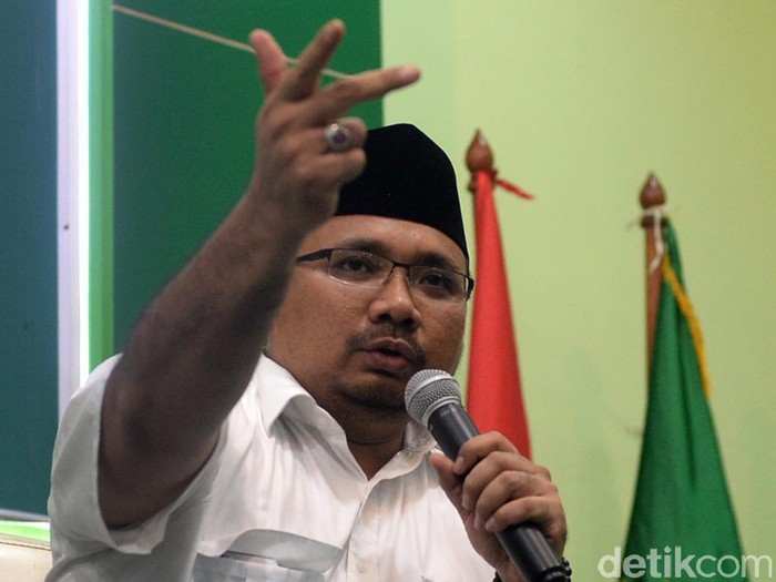 Ketua DPP PKB Yaqut Cholil Qoumas. (Ari Saputra/detikcom)