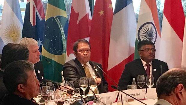 Menkominfo Rudiantara di Pertemuan Menteri-menteri G20 di Jerman.