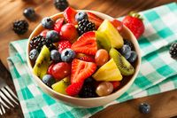 Buah-buahan.