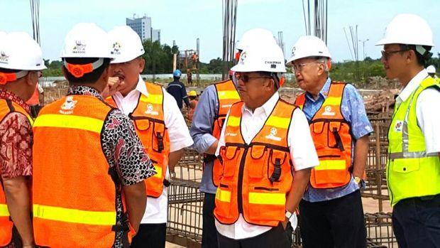 JK akan meninjau fasilitas bandara, LRT hingga JSC.