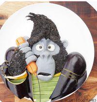 Tokoh-tokoh Kartun Ini Dibuat dari Superfood Khusus untuk Anak-anak