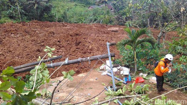 Longsor Susulan Terjadi di Ponorogo, Dua Rumah Tertimbun