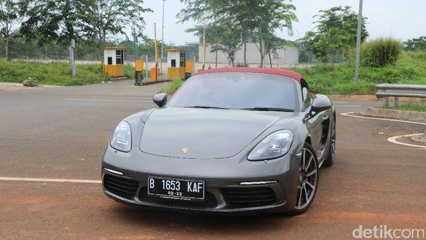 Ilustrasi Porsche Boxster