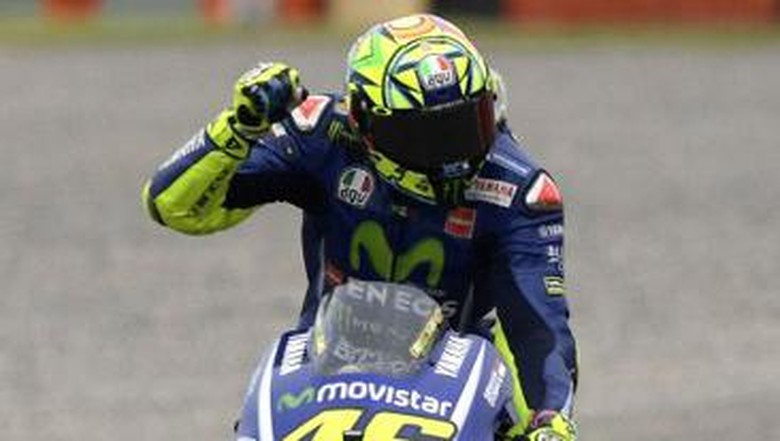 Valentino Rossi si Rider Hari Minggu