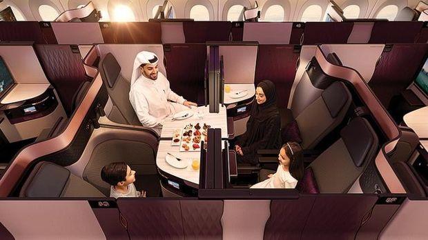 Qsuite maskapai Qatar Airways