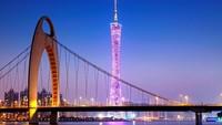 Kota Guangzhou termasuk kota besar di China. Meski modern dan banyak penduduk, tapi kota ini tetap nyaman buat dijelajahi traveler dengan berjalan kaki (Thinkstock)