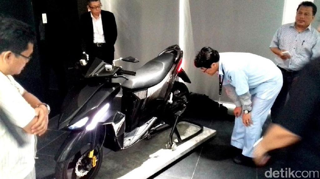 Motor Listrik Nasional Gesits Diluncurkan Bulan September
