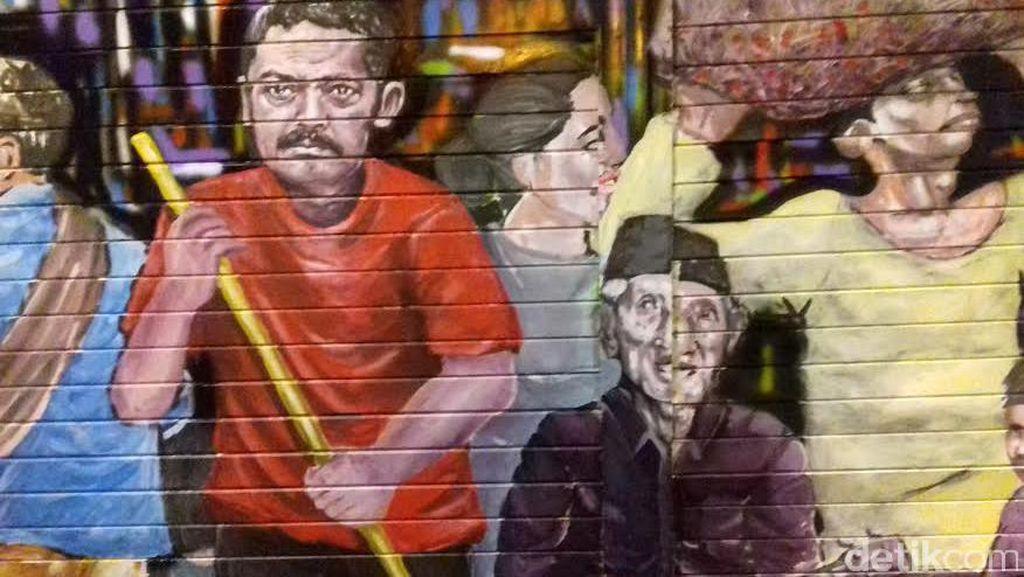 Street Art: Tekan Vandalisme, Pemkot Solo Ciptakan Kampung Mural