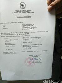 Senator Asal Yogyakarta Laporkan Kasus Pengeroyokan ke BK DPD